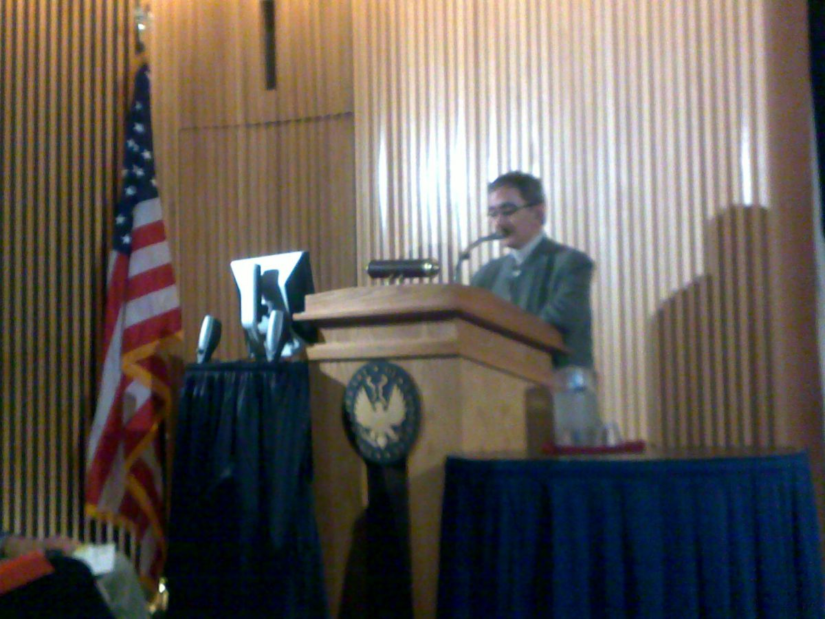 Jose M. Prieto 6 de junio 2014 Biblioteca Congreso Norteamericano