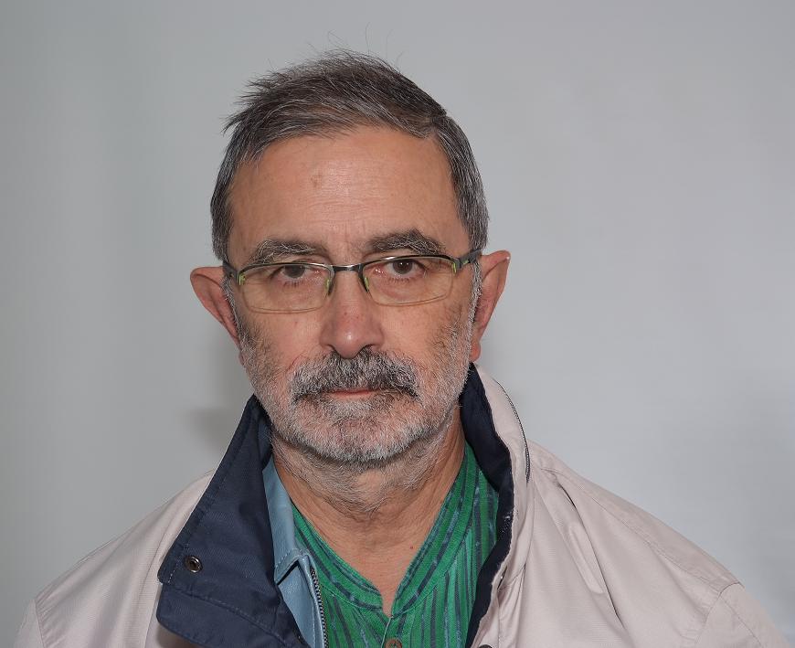 José M. Prieto en sus ratos de asueto