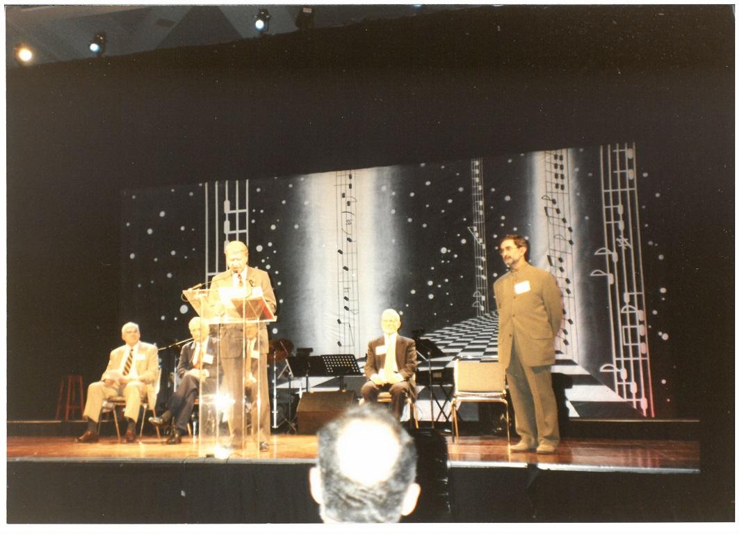 Ceremonia inaugural IAAP - APA agosto 1998 en San Francisco